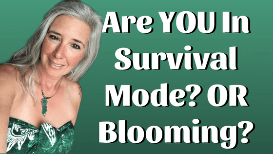 Are YOU In Survival Mode in Your Biz? OR Blooming?