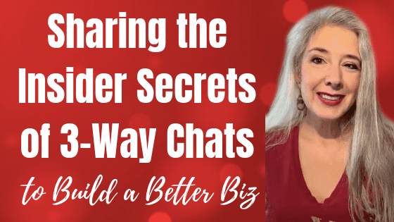 Sharing Insider Secrets of 3 Way Chats