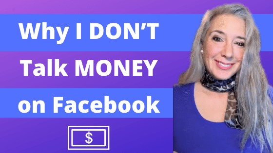 Why I Don't Talk Money on Facebook